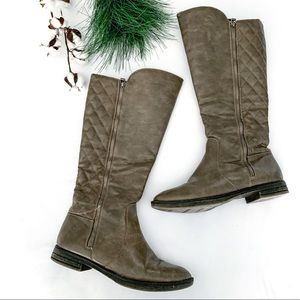 MIA Trudy Tall Quilted Boots